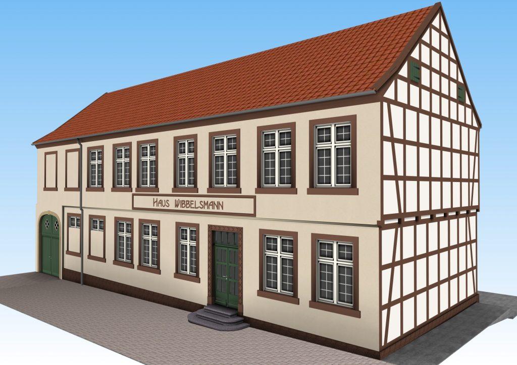 Visualisierung Haus Wibbelsmann